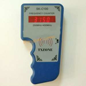 Frequency Meter, Measurement Fre From 250-450MHz,for RF Transmiiter, Wireless Remote Control