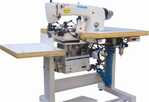 Automatic Lockstitch Hemming on Trousers Bottoms and Sleeves Machine pictures & photos