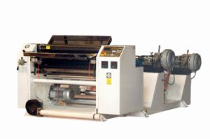 Two Ply Cash Register Roll Slitting Machine
