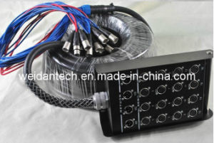 Weidan Audio 20 Channel 50′ XLR Snake Cable pictures & photos