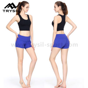 Summer Sport Ware for Ladies Short Fitness Vest Short Pants Yoga Shot Tops Women Workout Garments