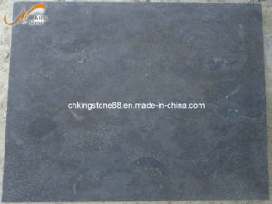 High Quality Natural Blue Limestone Tiles with Honed Surface (KSBL1361)