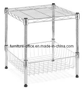 2 Layers Heave Duty Wire Shelving for Garage pictures & photos