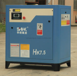 Stationary Screw Air Compressor 7.5HP pictures & photos
