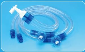 Disposable PVC Medical Breathing Circuit for Adult Pediatric pictures & photos