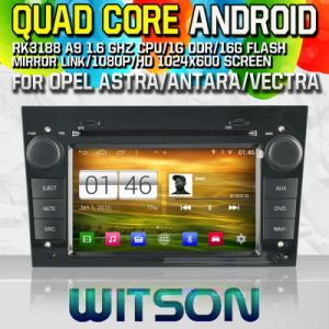 Witson S160 for Opel Astra/ Antara/Vectra Car DVD GPS Player with Rk3188 Quad Core HD 1024X600 Screen 16GB Flash 1080P WiFi 3G Front DVR DVB-T Mirror (W2-M019) pictures & photos
