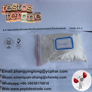 2446-23-3 Raw Steroid 4-Chlorodehydromethyltestosterone /Turinabol pictures & photos