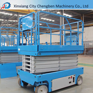 320kg Lifting Capacity Vertical Hydraulic Scissor Industrial Platform Lift pictures & photos