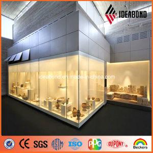 Big Showcase 3mm Silver PE Aluminium Decorative Panel pictures & photos
