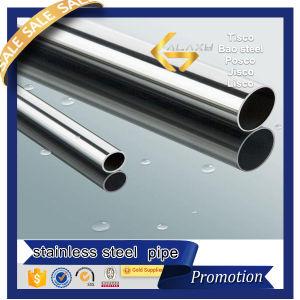 Polished Decorative Welded Stainless Steel Pipe/Tube (201 304 304L 316 316L 321)