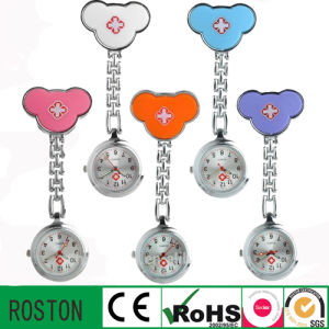 Japan Movement Silicon FOB Nurse Watch with Customer′s Design pictures & photos