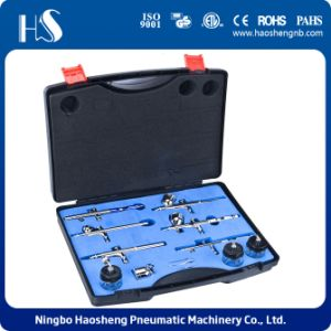 HS-813 Airbrush Kit Wholesale Airbrush Set Kit Airbrush Set pictures & photos