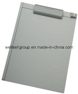 Plastic Clipboard with Pen Holder for Office Supply pictures & photos