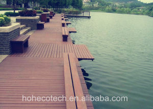 Wood-Like Cheap Decoration Material Anti-Swell Eco- Friendly WPC Outdoor Decking pictures & photos