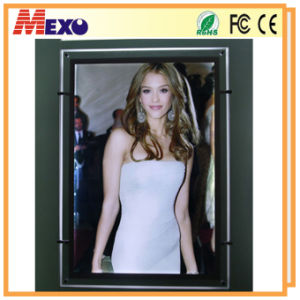 LED Backlit Slim Light Box for Advertising (CSH01-A1P-03) pictures & photos