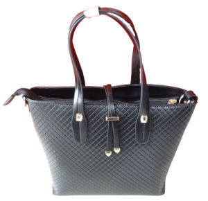 Newtest Design Vogue Cheap Leather Handbag Women pictures & photos