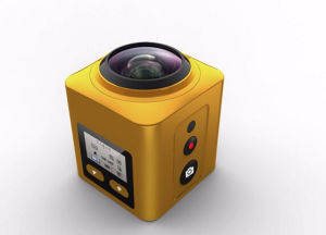 Sports Panoramic 4k Fisheye Wide Angle Camera pictures & photos