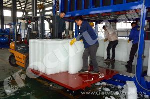 18 Tons Each Day Containerized Direct Block Ice Plant for Sale pictures & photos