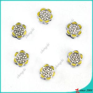 Beautiful Sunflower Slide Charms for Girl Bracelet Charms (SC16040951)