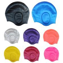 High Streth Swimming Cap with Ear Protection pictures & photos