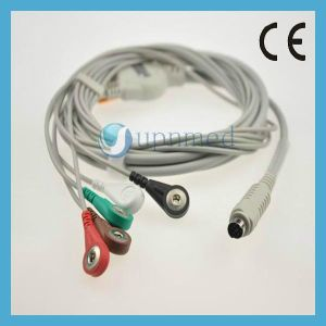 MEK 3-Lead ECG Cable with Leadwires, Aha pictures & photos