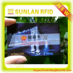 Competitive Price Tk4100 Chip Card/125kHz Writable RFID Smart Card with Magnetic Strip/Blank Student ID Card/NFC Smart Card for Sale pictures & photos