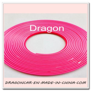 Rose Red Alloy Wheel Rim Protector Tire Guard Rubber Molding Trim Scratch Protection pictures & photos