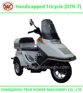 70/110cc Handicapped Tricycle, Three Wheel Motorcycle (DTR-7) pictures & photos