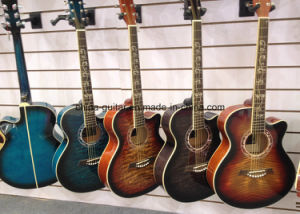 40′′ Acoustic Guitar with Cloud-Top pictures & photos