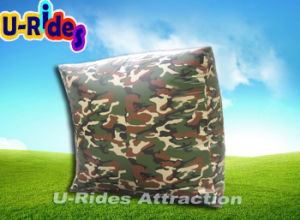 2016 new camouflage paint inflatable paintball bunkers pictures & photos