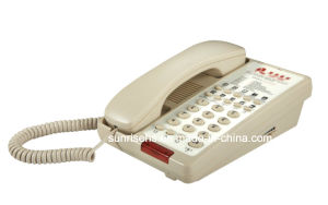 Automatic Take-up Guestroom Telephone for Hotel pictures & photos