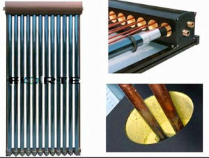 U Pipe Splite High Pressure Solar Collector pictures & photos
