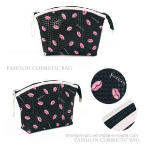 Simple Cosmetic Bag with Full Logo Printing for Sell