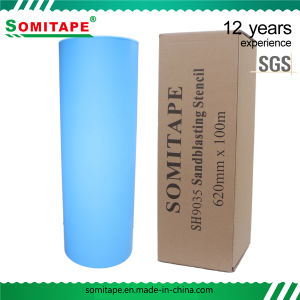 Somitape PVC Sandblasting Film for Engraving Use, Marble Stone Blasting Protection pictures & photos