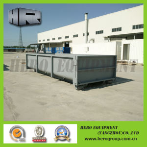 10m Gray Roll on off Container/Hook Bin with Single Door pictures & photos