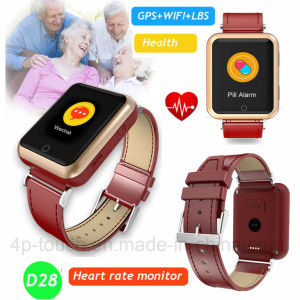 Colorful Touch Screen Heart Rate Monitor GPS Tracker Watch (D28) pictures & photos
