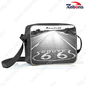 Trendy Printed PU Sling Shoulder Bags for Sports, Hiking pictures & photos