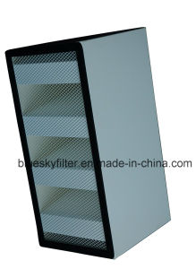 585X277X292mm HVAC V-Bank HEPA Filter pictures & photos