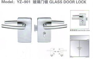 Yz-901 Su304 Stainless Steel Glass Door Lock pictures & photos