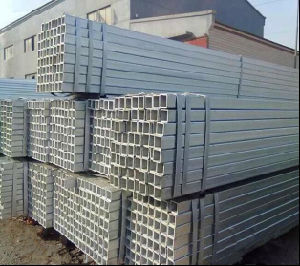 HDG Steel Pipe/Gi Square Steel Pipe/Tube Building Material pictures & photos