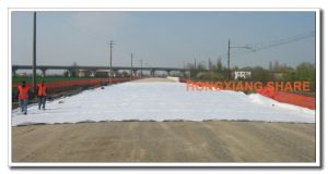 Thermal Bonded Non-Woven Geotextile for Road Railway Tunnel Canel Projects pictures & photos