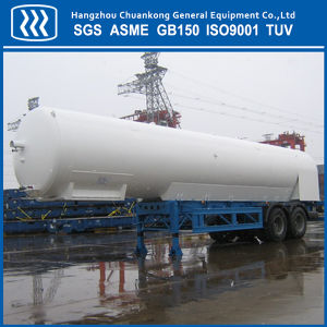 Lox LNG Lco2 Road Tanker Semi Trailer Transportation Tankers pictures & photos