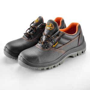 Breathable Suede Leather Safety Shoes L-7006 pictures & photos