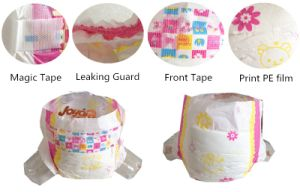Super Absorption Baby Diapers in Magic Tape pictures & photos
