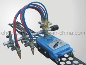 Zhengte Cg1-100b Semi-Automated Double Torch Gas Cutting Machine pictures & photos
