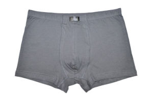 100% Cotton Underwear Boxer Brief Men pictures & photos