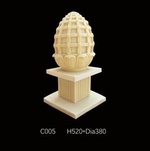 LED Light Europe Style Sandstone Sculpture Lantern pictures & photos