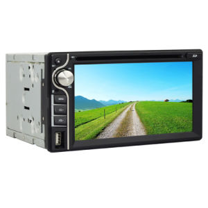 6.2inch Double DIN 2DIN Car DVD Player with Wince System Ts-2025-2 pictures & photos