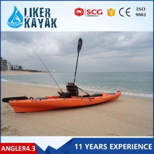 HDPE/LLDPE Sit on Top Single Fishing Kayak Wholesale/Pedal Fishing Kayak pictures & photos