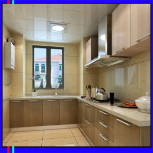 UV High Glossy Kitchen Cabinet (ZH6548) pictures & photos